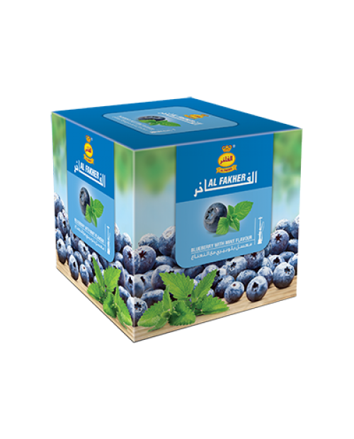 Табак Al Fakher Blueberry with Mint (Черника с Мятой) 1кг