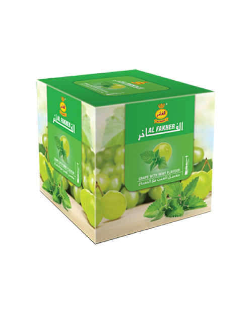 Табак Al Fakher Grape with Mint (Виноград с Мятой) 1кг
