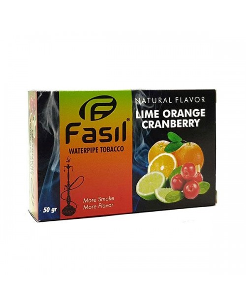 Табак Fasil Lime Orange Cranberry (Лайм Апельсин Клюква) 50гр