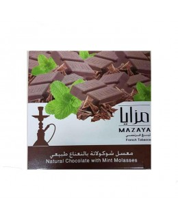 Табак Mazaya Natural Chocolate with Mint (Натуральный Шоколад с Мятой) 250гр