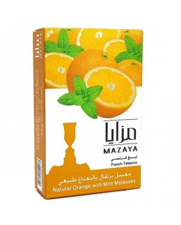 Табак Mazaya Orange with Mint (Апельсин с Мятой) 50гр