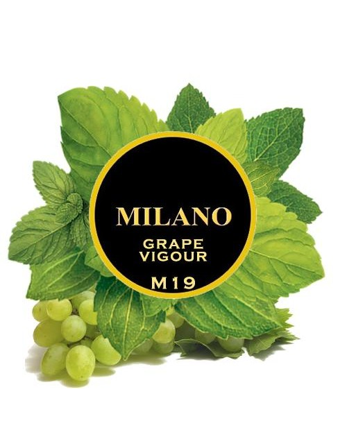 Табак Milano Grape Vigour M19 (Виноград Мята) 100 гр