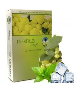 Табак Nakhla Mix Ice Grape Mint (Виноград с Мятой Лед) 50гр