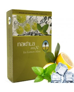 Табак Nakhla Mix Ice Lemon Mint (Лед Лимон с Мятой) 50гр