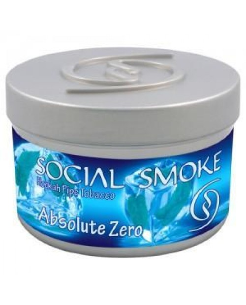 Табак Social Smoke Absolute Zero (Мятный Микс) 250гр