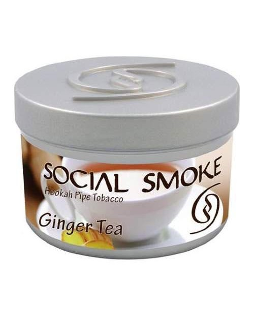 Табак Social Smoke Ginger Tea (Имбирный Чай) 250гр