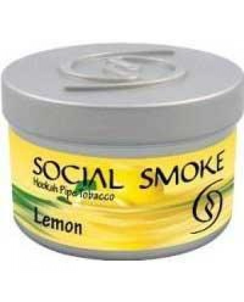 Табак Social Smoke Lemon (Лимон) 100гр