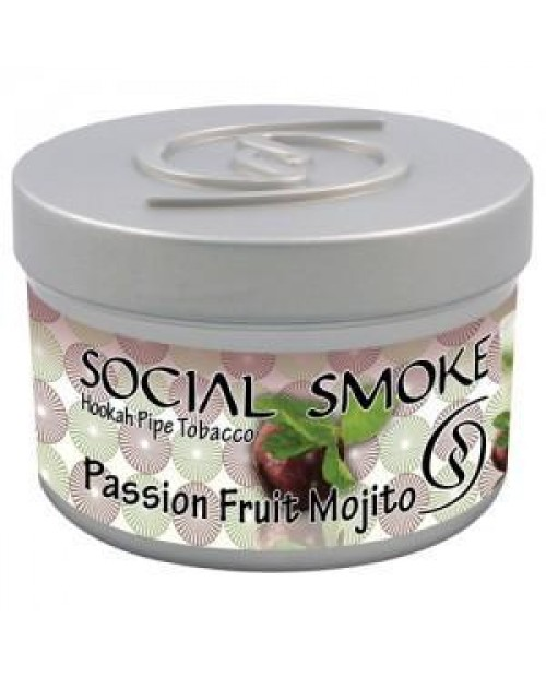 Табак Social Smoke Passion Fruit Mojito (Мохито и Маракуйя) 250гр
