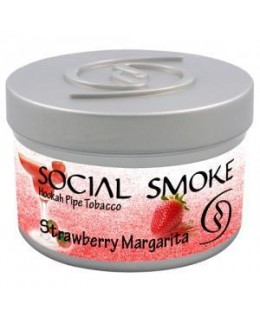 Табак Social Smoke Strawberry Margarita (Клубничная Маргарита) 100гр