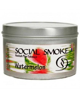 Табак Social Smoke Watermelon (Арбуз) 100гр