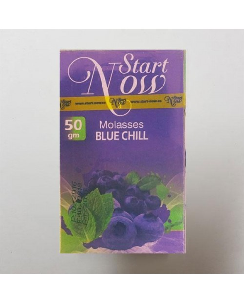 Табак Start Now Blue Chill (Черника с Мятой) 50гр