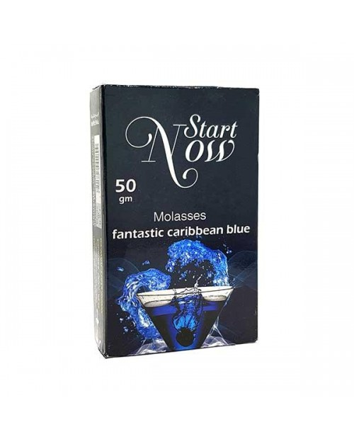 Табак Start Now Fantastic Caribbean Blue (Фантастик Карибиан Блу) 50гр