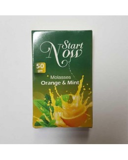 Табак Start Now Orange Mint (Апельсин с Мятой) 50гр
