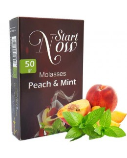 Табак Start Now Peach Mint (Персик Мята) 50гр