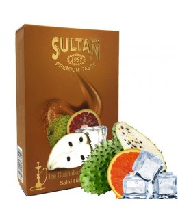 Табак Sultan Ice Guanabana Blood Orange (Гуанабана Сицилийский Апельсин Лёд) 50 гр